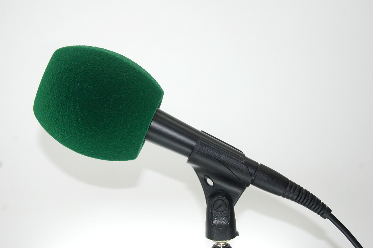 Windscreen Microphone 3 Sides dark green
