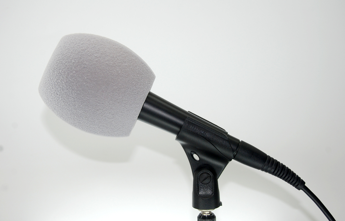 Windscreen Microphone 3 Sides Gray