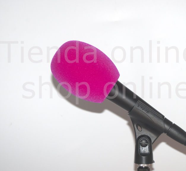 Windscreen R90mm PINK